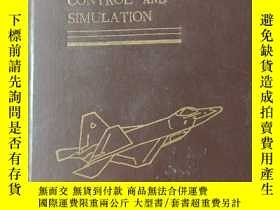 二手書博民逛書店AIRCRAFT罕見CONTROL AND SIMULATION