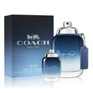 COACH 時尚藍調男性淡香水60ml(贈)同款男性小香水 4.5ml Vivo薇朵