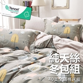 #YN48#奧地利100%TENCEL涼感40支純天絲6尺雙人加大全鋪棉床包兩用被套四件組(限宅配)專櫃等級
