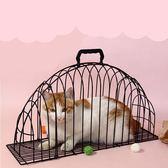 限定款貓籠 洗貓籠專業貓吹風籠子貓洗澡神器固定籠防抓咬貓咪洗澡籠烘干用品jj