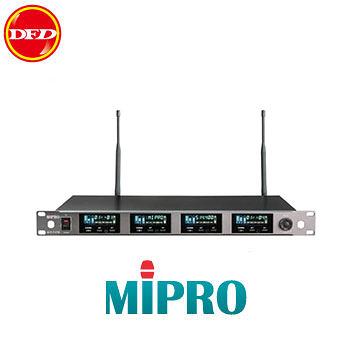 (升級) MIPRO嘉強 ACT-747B 窄頻UHF四頻道純自動選訊接收機ACT747B 取代ACT747