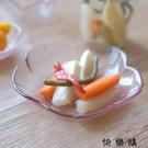 【快樂購】櫻花玻璃調味碟料理蘸醬碟醋碟水果盤餐具