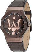 ★MASERATI WATCH★-瑪莎拉蒂手錶-經典咖啡金款R8851108011-錶現精品公司-原廠正貨-