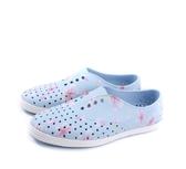 Native JERICHO PRINT女款藍粉花朵休閒鞋 -NO.11300401-8811