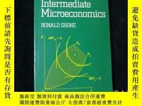 二手書博民逛書店Applications罕見in Intermediate Microeconomics(Ronald Shone
