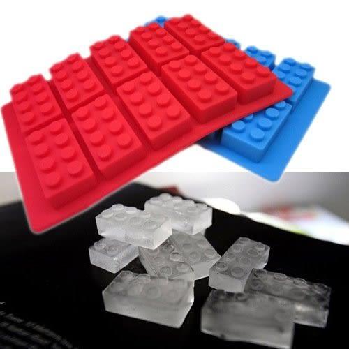 【發現。好貨】食用級矽膠樂高積木型冰格製冰盒冰格模具創意冰格甜點飲料必備冰塊LEGO