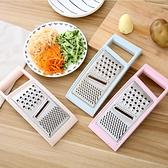 切菜機 多功能切菜器廚房三合一馬鈴薯絲切絲器黃瓜切片器瓜果擦絲器刨絲器【快速出貨】