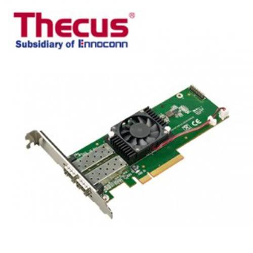 Thecus 色卡司 C10GI599F2 10Gb 雙連接埠10GbE 光纖網路 擴充卡