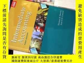 二手書博民逛書店Intermediate罕見Accounting (中級會計-大