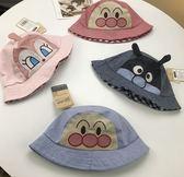 雙面卡通兒童漁夫帽/遮陽帽/兒童帽子