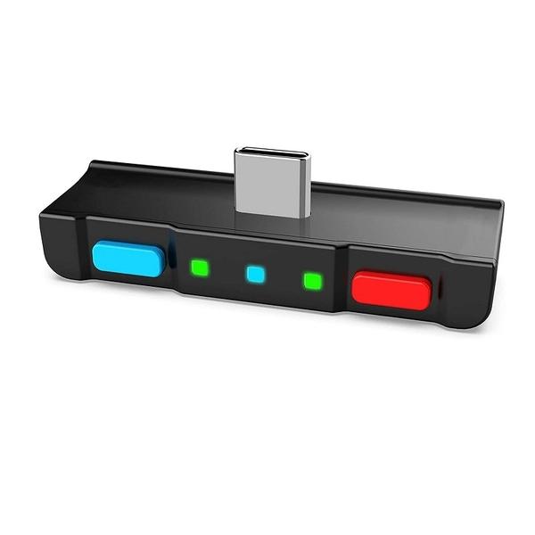HomeSpot  Nintendo Switch Lite 轉接器 適用AirPods PS4 Bose Sony and Headphones 多色 [9美國直購]