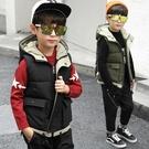 男童羽絨棉馬甲秋冬季2020新款韓版男孩馬夾外穿大兒童加厚背心潮 小山好物