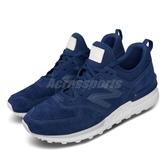 【五折特賣】 New Balance 休閒鞋 NB 574 藍 白 男鞋 運動鞋 【ACS】 MS574BLBD