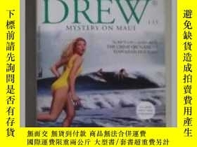 二手書博民逛書店英文原版罕見Mystery on Maui Nancy Drew