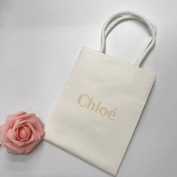 Chloe 克羅埃 精美白色紙袋【UR8D】