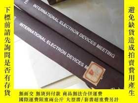 二手書博民逛書店Technical罕見Digest1980 1981 Inter