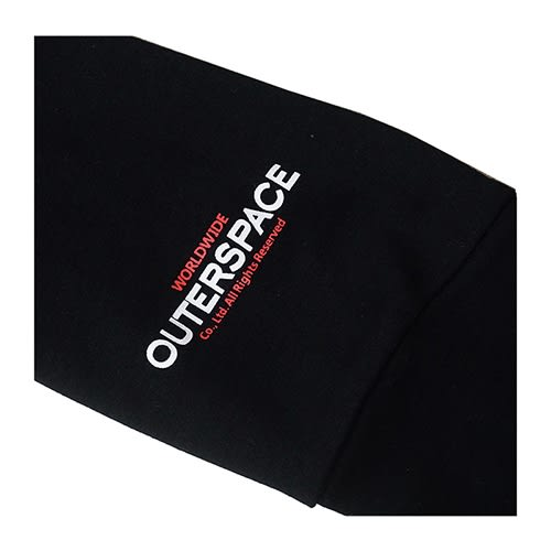 OUTER SPACE LOGO立領T