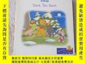 二手書博民逛書店Dark罕見Too Soon (Read with Pooh a
