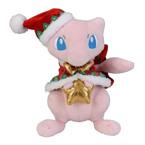 【聖誕夢幻娃娃】聖誕節 夢幻 絨毛玩偶 娃娃 寶可夢 日本正品 該該貝比日本精品 ☆
