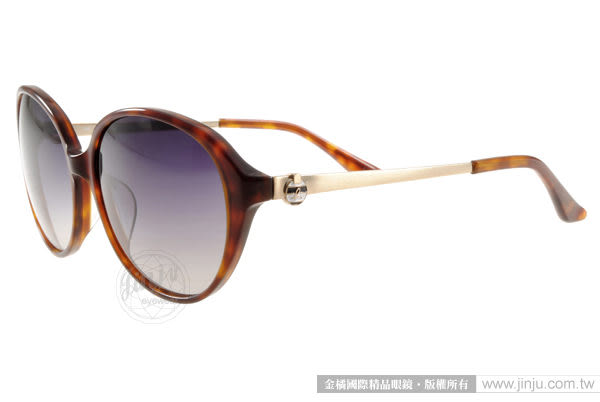 agnes b.太陽眼鏡 AB2818 DW (琥珀) 別緻典雅百搭款 # 金橘眼鏡