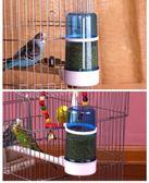 餵食器鳥用飲水器自動喂食器喂水喝水器八哥鸚鵡食盒喂鳥食鳥籠配件用品