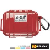 美國 PELICAN 派力肯 塘鵝 1010 Micro Case 微型防水氣密箱 紅色 公司貨