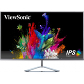 ViewSonic優派VX3276-2K-MHD 32型IPS無邊框/內建喇叭/可壁掛/【刷卡含稅價】