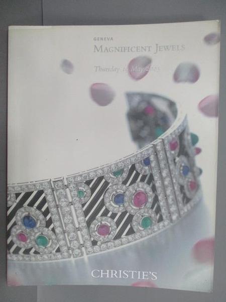 【書寶二手書T1/收藏_PGR】Christie s_Magnificent Jewels_2005/5/19