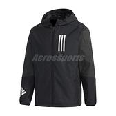 adidas 外套 Originals SPRT US Windbreaker 黑 白 男款 連帽外套 風衣外套 訓練 運動休閒 【ACS】 GF4023