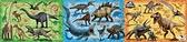 侏羅紀世界 恐龍大集合 /18+24+32P/apollo社/兒童/三片一組/日本進口拼圖