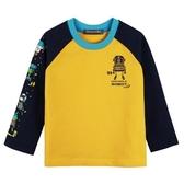 『小鱷魚童裝』機器人連袖T恤(02號~10號)554434