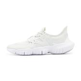 Nike WMNS Free RN 5.0 女 白 赤足 輕量 透氣  慢跑 訓練鞋 AQ1316-002