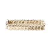 科德斯長型小編織籃W31(米白)