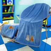 菲依班 夏季嬰兒毛毯 雙層卡通繡花絨毯 空調毯子 多功能毛巾被