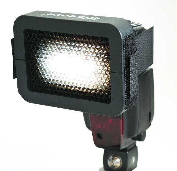 呈現攝影-Micnova 聚光蜂巢罩 聚光罩 中孔 1/6 外閃/機頂閃專用 外拍棚拍 局部光/髪光 離機閃