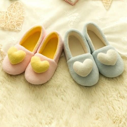 鞋子 孕婦防滑防水愛心加厚居家鞋月子鞋 P7A001 AIB小舖