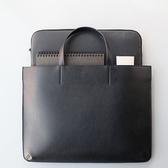 促銷韓版簡約手拎包女手提包A4文件包OL商務辦公包公文包筆記本電腦包LX 宜室