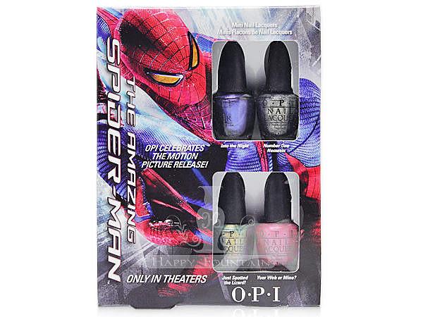 OPI The Amazing Spider-Man 蜘蛛人系列 迷你組指甲油