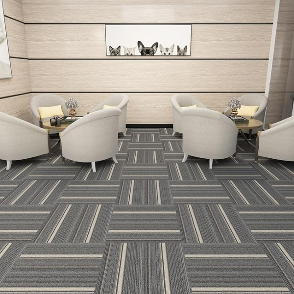 地毯 辦公室地毯拼接臥室滿鋪房間客廳家用全鋪工程商用大面積方塊防火【八折搶購】