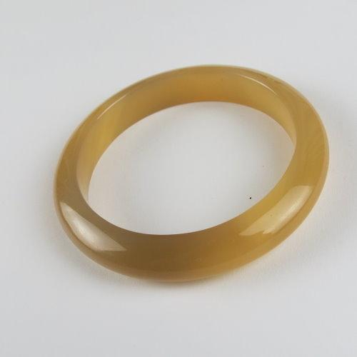 天然黃玉髓手鐲#0444  58.2mm