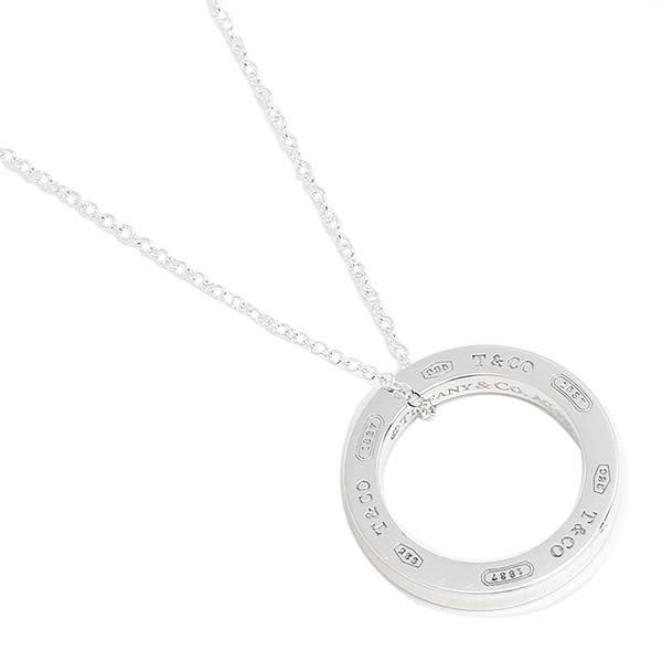 Tiffany & Co.  1837系列中號圓圈純銀項鍊