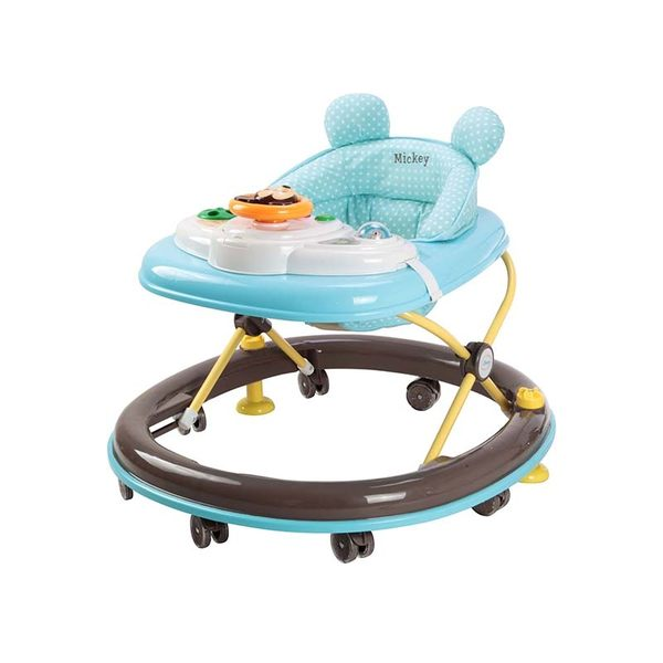 【ViVibaby】迪士尼兒童學步車(米奇藍DSA88510)(維尼黃DSA88517)【限宅配】