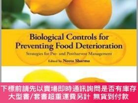 二手書博民逛書店預訂Biological罕見Controls For Preventing Food Deterioration