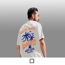 【男人幫】T8061*台灣製造加大尺碼夏季塗鴉印花T