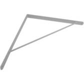 超重型板托白色_適用層板(深50公分)