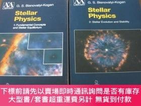 二手書博民逛書店STELLAR罕見PHYSICS(恒星物理學 第1、2卷,兩本合售,16開英文原版)Y10118 G.S.BI