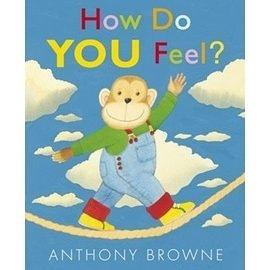 『繪本123‧吳敏蘭老師書單』-- HOW DO YOU FEEL !/英文繪本附CD《中譯:你今天心情好嗎?》