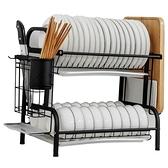 304不銹鋼廚房置物架碗架瀝水架放碗筷碗碟盤子瀝碗櫃收納盒家用ATF 青木鋪子