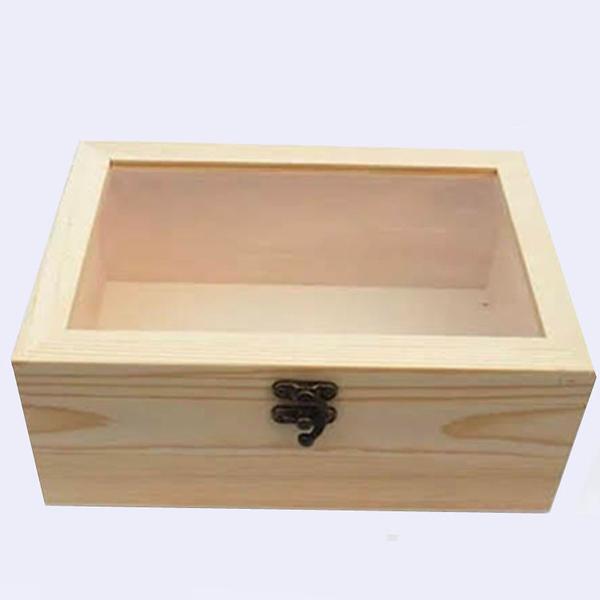 永生花花束木盒,開窗木質禮盒,可放花束