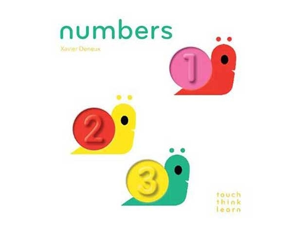 Touch Think Learn:Numbers 數字 厚紙硬頁認知書